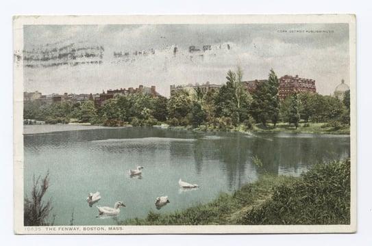 The Fenway, Boston MA - La bibliothèque publique de New York