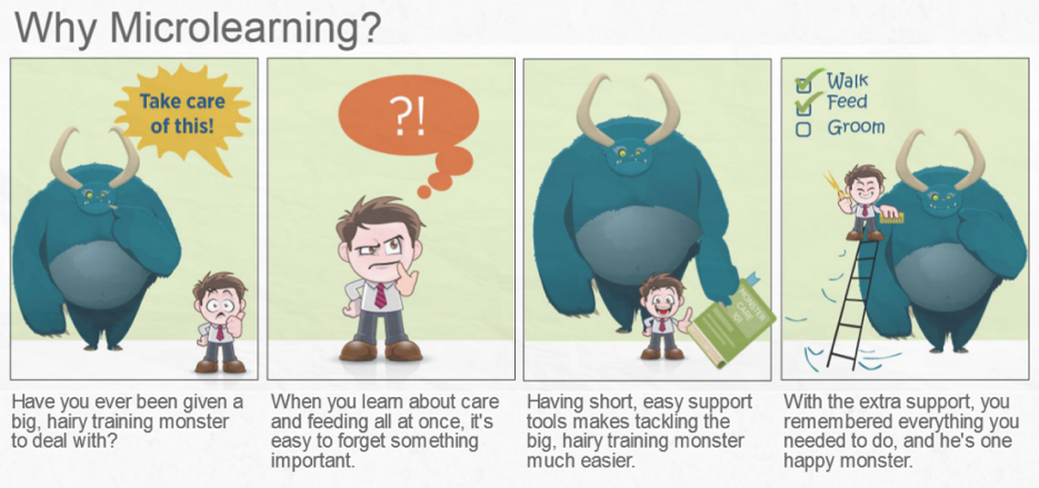 comic on training